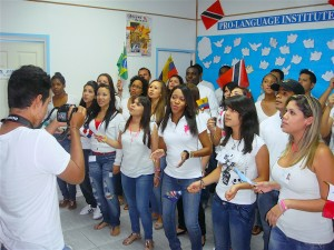 PEACE DAY '12 STAFF SING